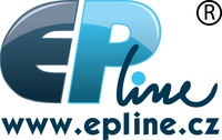 EP Line logo s webem sloucene pruhl
