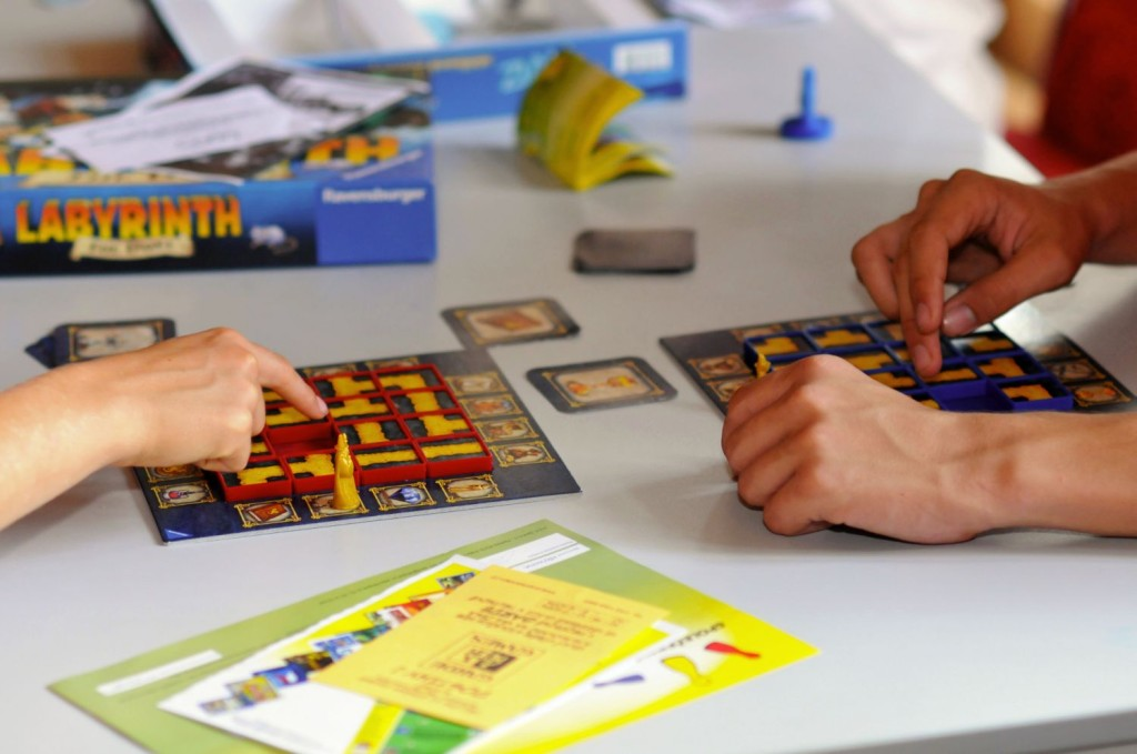 Po celou dobu výstavy pověž ve velkém sále herna deskových her